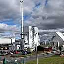 Stephen's Croft Biomass Power Station south west Scotland