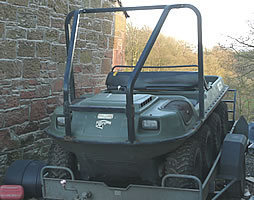 ATV access with specialist access vehicles