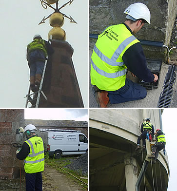 lightning protection installation by lightning protection services